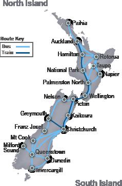 RailBus ScenicPass - Train Timetables