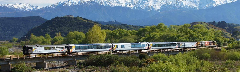 Rail New Zealand | Scenic Coach Bus Rail Train Independent