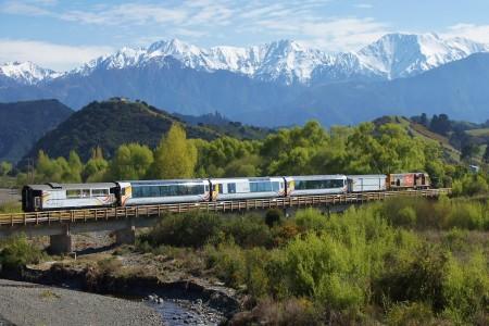 New Zealand Travel Rail Pass