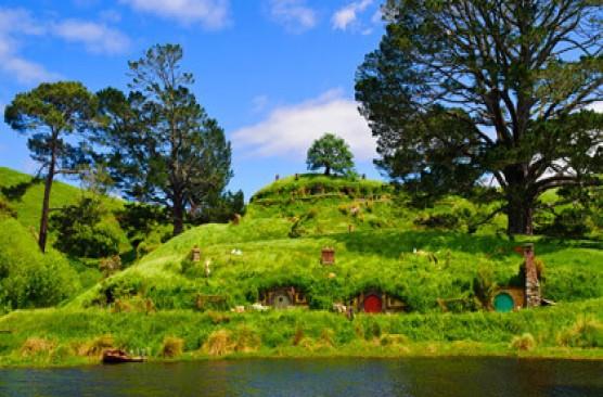 Waitomo & Hobbiton Experience - Auckland Return
